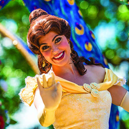 A special meet and greet with belle at walt disney world and more princess belle waves at walt disney world m4hsunfo