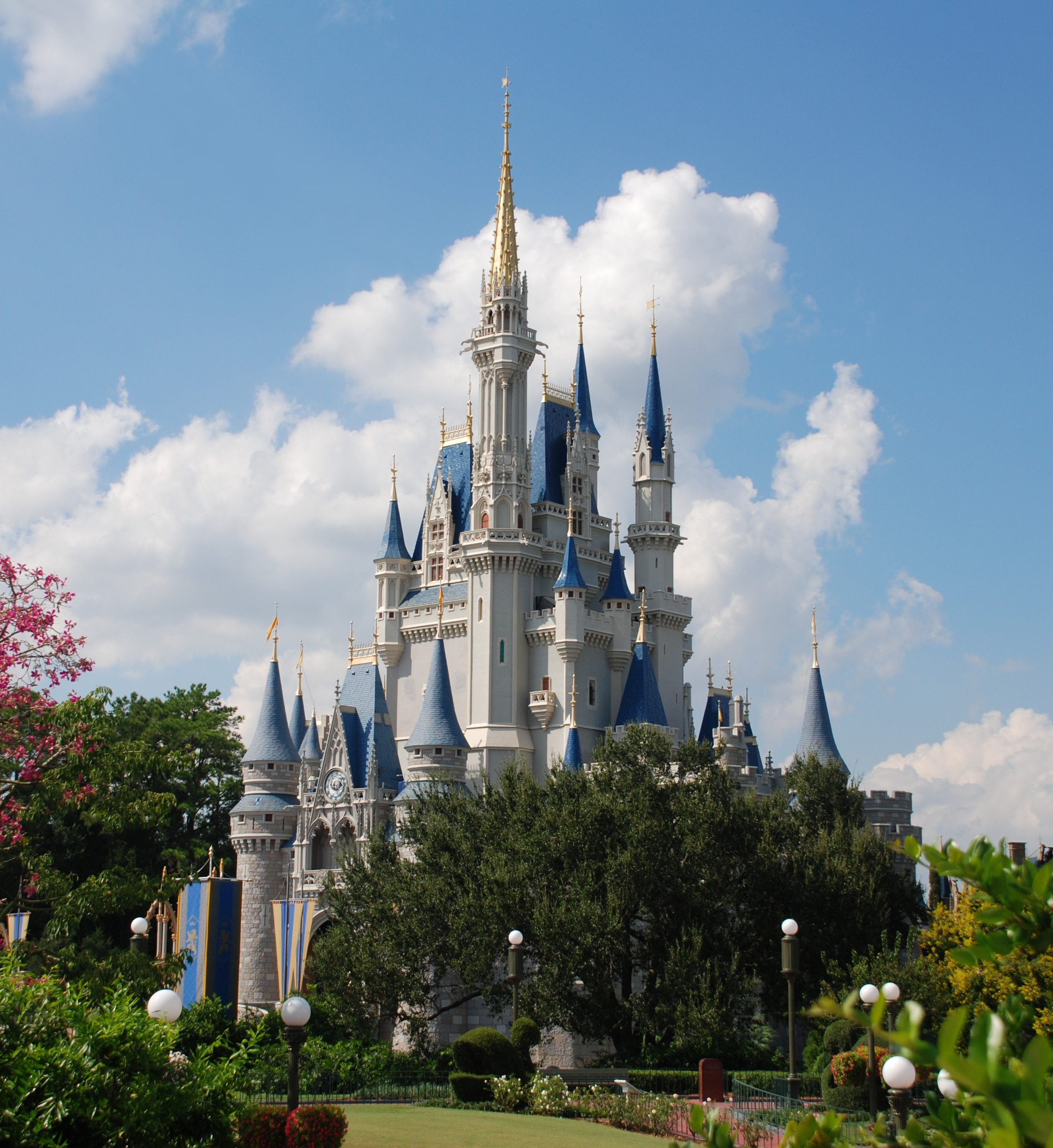 Cinderella's Castle at Walt Disney World Resort