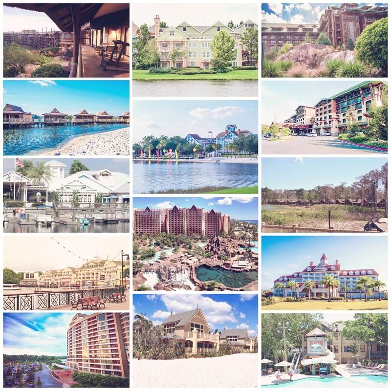 DVC Classic Collection of Resorts