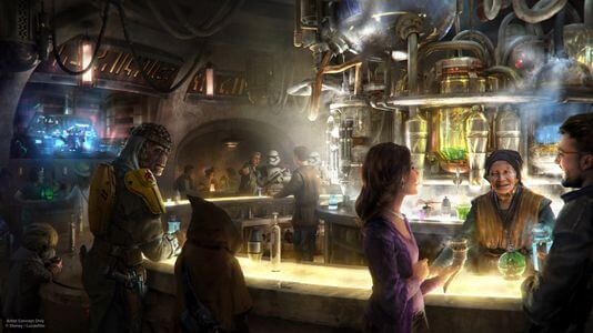 Galaxy's Edge Cantina