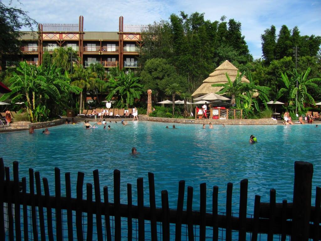 Pool at Animal Kingdom Lodge