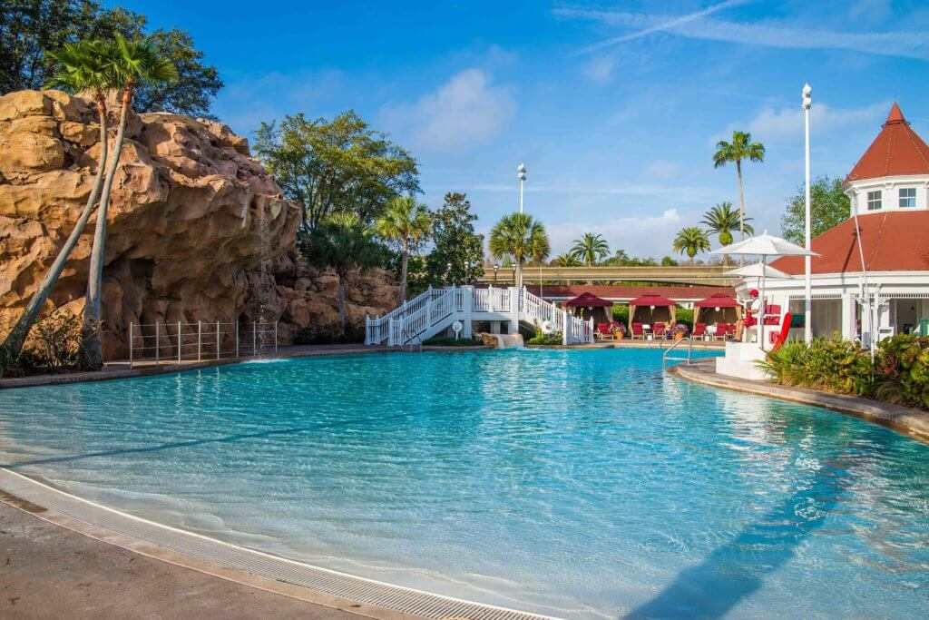 Disney's Grand Floridian pool view