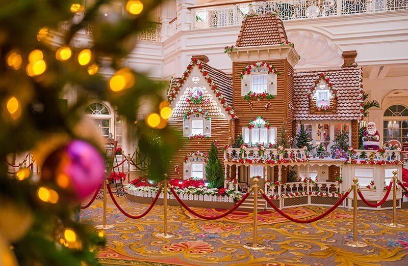 Life-Size Gingerbread House at Walt Disney World