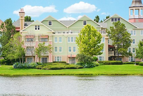 The outside of DVC's Saratoga Springs