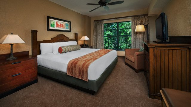 The interior room of Fort Wilderness Resort
