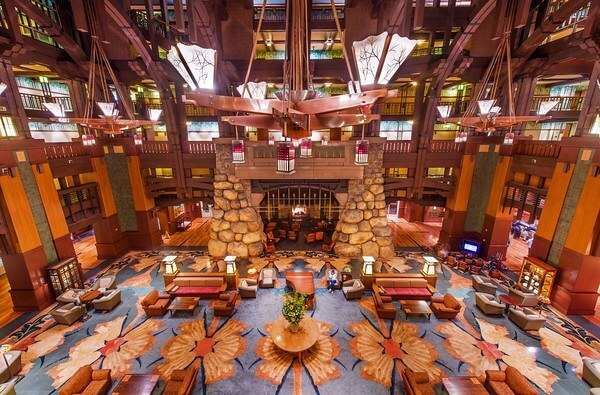 Grand Californian Lobby (Fourth Floor)