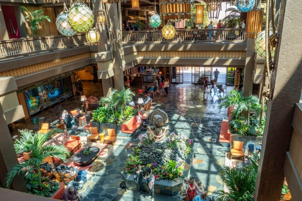 Disney's Polynesian Resort Lobby