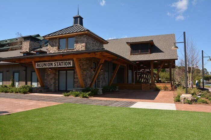 Reunion station at Disney Vacation Club's Wilderness Lodge