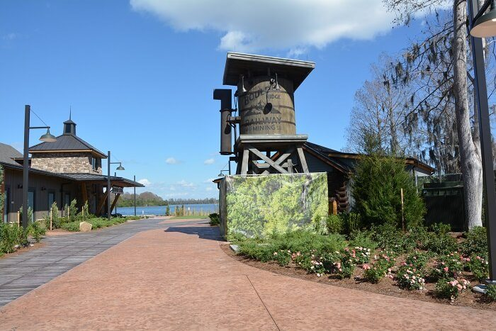 Reunion Station at Disney's Wilderness Lodge