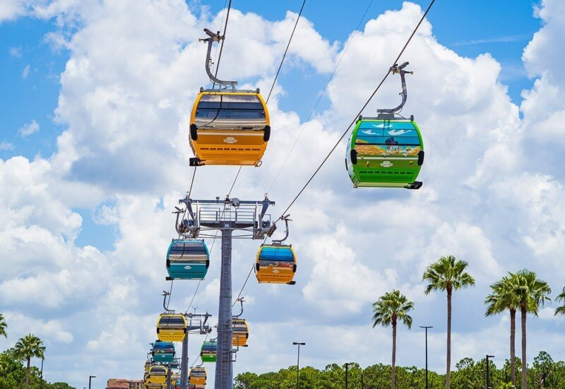 Riviera Resort Skyliner Gondola at Disney World