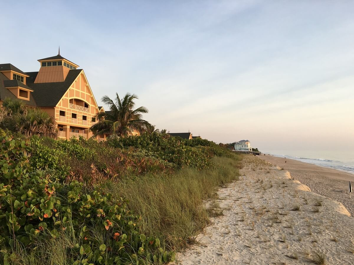 Disney's Vero Beach ocean view